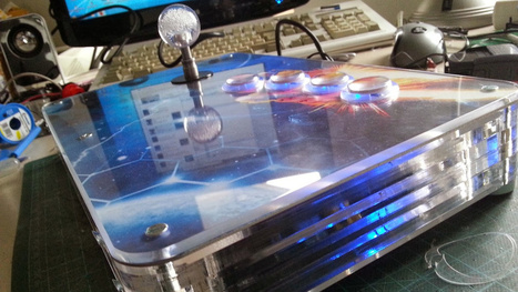 This Raspberry Pi-Powered Arcade Stick Is Pre-Loaded with Games - | Raspberry Pi | Scoop.it
