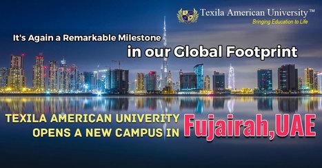 Texila American University Opens a New campus in Fujairah | Texila Health plus | Scoop.it