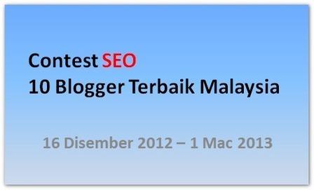10 blogger terbaik malaysia | Ohcikgu and Blog | Scoop.it