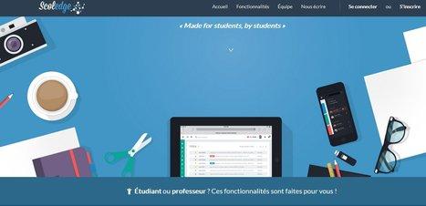 Scoledge  : Le premier réseau social et espace de travail des écoles !   Ressources pour les TICE en primaire   Scoop.it