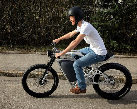Light Rider, la moto ultra-légère imprimée en 3D - 3Dnatives | #Automotive #Applications | Scoop.it