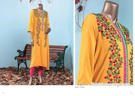 Junaid Jamshed Winter Dresses 2014 In Stores | Fashion Blog | Scoop.it