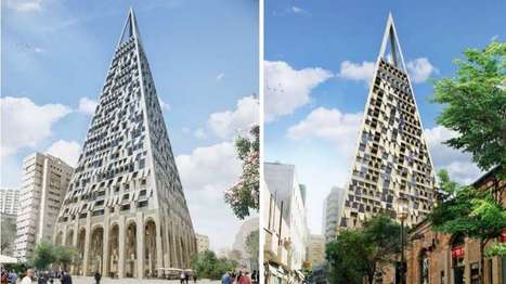 Novel pyramid-shaped high-rise slated for Jerusalem | Adam Williams | GizMag.com | @The Convergence of ICT & Distributed Renewable Energy | Scoop.it