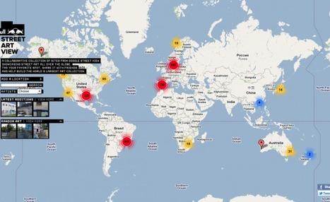 Cartographie mondiale du Street Art via Google Map | VIM | Scoop.it