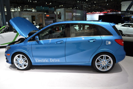 Mercedes B-Class EV Comes With 124-Mile Range, Tesla Technology, Multiple Braking Options | Sustain Our Earth | Scoop.it