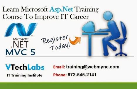 Asp.Net Training for Beginners in Vadodara | VTechLabs | Scoop.it