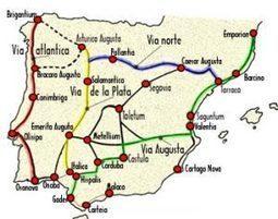 Las comunicaciones en la Hispania Romana (II): la Vía de la Plata   Arqueología romana en Hispania   Scoop.it