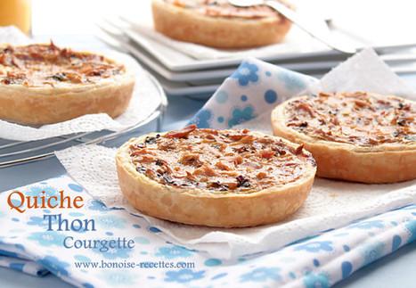 Quiche courgette/thon, champignon   cuisine algerienne et recettes de ramadan   Scoop.it