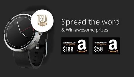 Giveaway: Win a fancy Moto 360 smartwatch | TeslaThemes | Clean WordPress Themes | Scoop.it