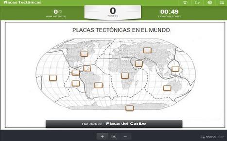 Recursos Didácticos: Juego interactivo para ubicar las placas tectónicas en el mundo | Educacion, ecologia y TIC | Scoop.it