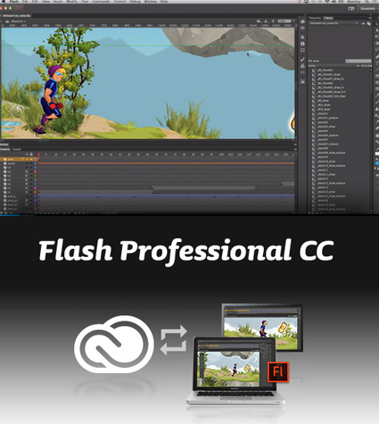 "Flash Pro CC aka ""Hellcat"" is coming in... 