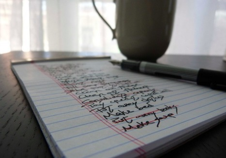 The origin of the to-do list and how to design one that actually works | emprende | Scoop.it