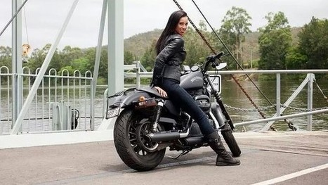Belles, angels jump on a Harley-Davidson - The Age | Harley Rider News | Scoop.it