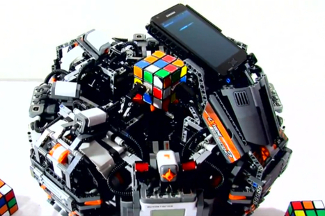 Faster than any human can: Lego Cubestormer 3 robot solves Rubik's Cube in 3.253 seconds | Amazing Science | Scoop.it