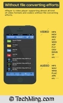 Top 5 Best Video Player for iPhone, iPad, and iPod touch - TechMing | TechMing | Scoop.it
