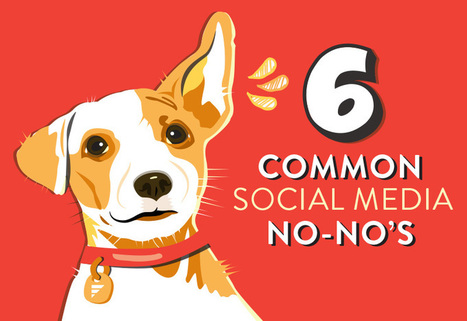 6 Common Social Media No-No's You Should Strive To Avoid | Bigfin Blog | Scoop.it