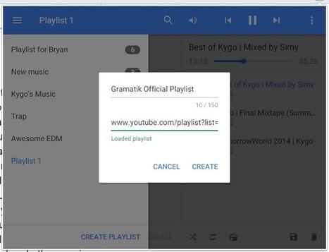 Streamus. Créer votre bibliothèque musicale depuis YouTube | Trucs et Astuces | Scoop.it