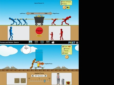 STEAM App: Forces & Motion Simulation - | TeachThought | Scoop.it