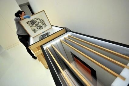 Le musée Soulages dit adieu à l'atelier d'Aldo Crommelynck   L'info tourisme en Aveyron   Scoop.it