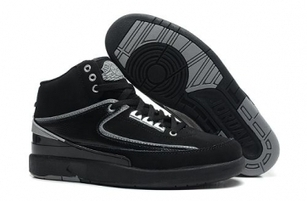 Cheap Nike Jordan 2 Black Grey Shoes For Sale Online - SportsYTB.Com | Cheap Nike Air Jordan Shoes,Cheap Nike Sneakers | Scoop.it