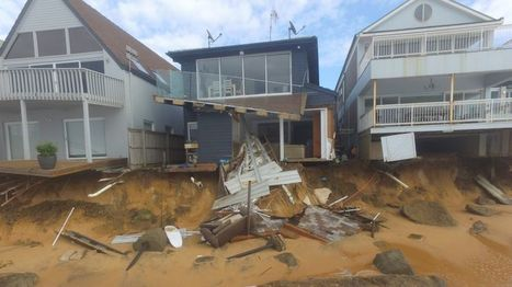 Collaroy Beach 'loses 50 metres' after Australia storm - BBC News | OCR A2 Geography | Scoop.it