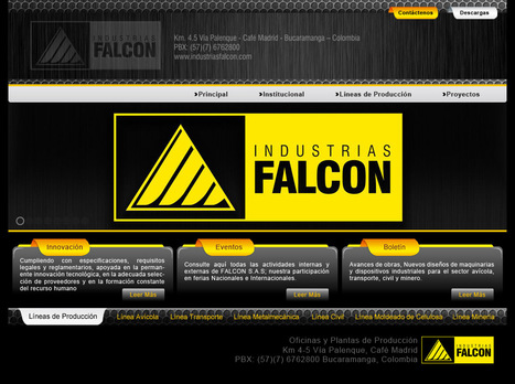 INDUSTRIAS FALCON | Ilustración Educativa en Colombia | Scoop.it