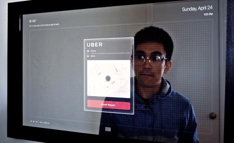 Un miroir connecté tactile affole le web | Hightech, domotique, robotique et objets connectés sur le Net | Scoop.it