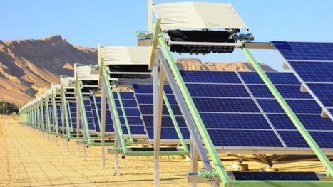 Israeli robot-cleaning system promises brighter future for solar power | Green Innovation | Scoop.it