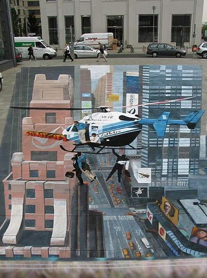 25 Insanely Realistic Chalk Art Drawings | News from the States | Scoop.it