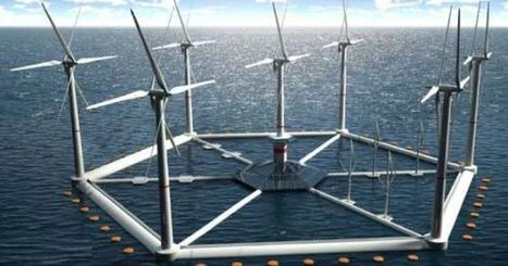 Hexicon's Floating Wind Platform Keeps Wind Power Afloat | Sustainable Technologies | Scoop.it
