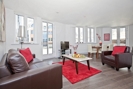 Trendy Two-Bedroom Flat in One White's Row, Liverpool, London - RatedApartments | Serviced Apartments in London | Scoop.it