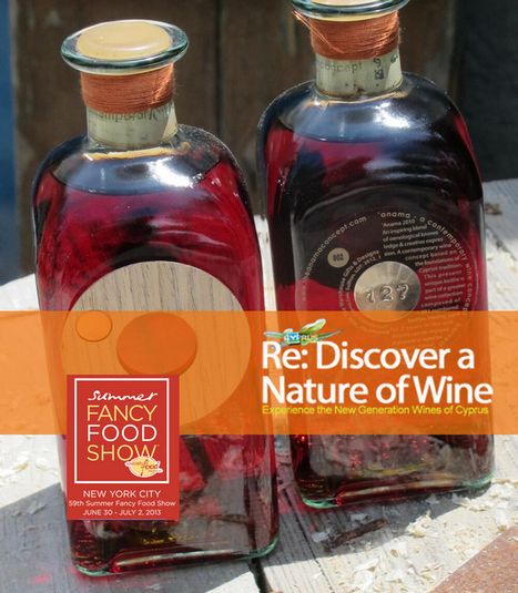 Anama Concept wine for a taste at the Summer Fancy Food Show New York | Wine Cyprus | Scoop.it