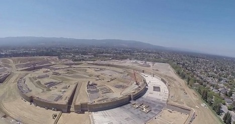 [Vidéo] Un drone survole le chantier du futur campus d'Apple | Apple Addict - Pro Mac | Scoop.it