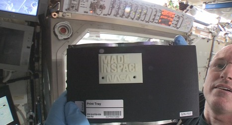 Open for Business: 3-D Printer Creates First Object in Space on International Space Station | Peer2Politics | Scoop.it