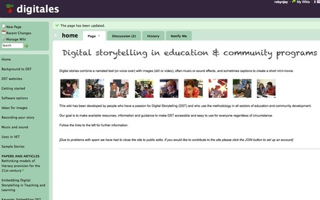 Digitales wiki | Telling tales | Scoop.it