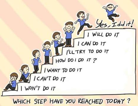 The key to Success is Hard Work and Determinatio  So which step you reached...?? | Games & Technolgy | Scoop.it