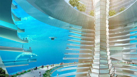 This amazing floating underwater city may become a reality in China | All about water, the oceans, environmental issues | Scoop.it