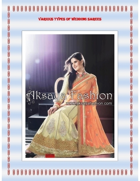 Various Types of Wedding Sarees - PDF | Indian Wediing Dresses | Scoop.it