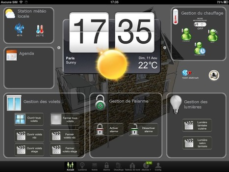 Ma maison domotique: Création d'une interface graphique avec MyVera   Tecknolik   Scoop.it