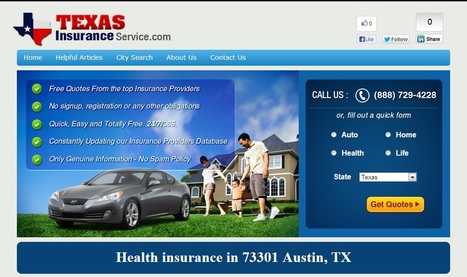 Health insurance and Affordable health insurance - 73301 Austin, Texas | health insurance austin tx | Scoop.it