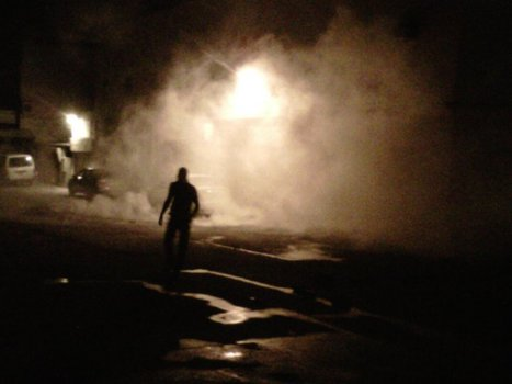Tear gas in Karranah Aug18, 2011 | Human Rights and the Will to be free | Scoop.it
