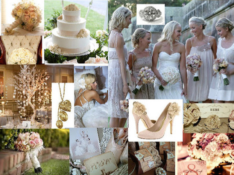 Vintage Blush Romance from the Dessy Group | Bridal and Wedding News | Scoop.it