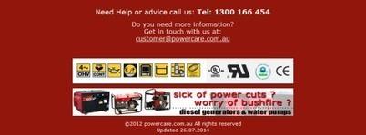 Different Remarkable Benefits of Using Portable Generators   Power Generators Australia   Scoop.it