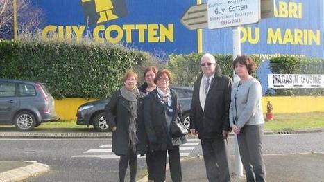 Le rond-point Guy-Cotten inauguré | Hommage Guy Cotten | Scoop.it