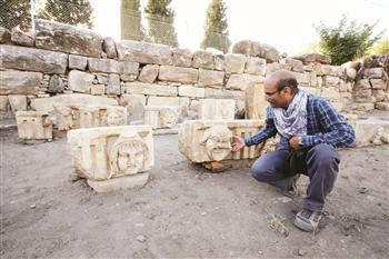 Mythological theater reliefs found in Muğla « archaeoinaction.info | archaeology | Scoop.it