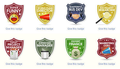 Badges Swarm the Internet (and soon Intranet) | Badges for Lifelong Learning | Scoop.it