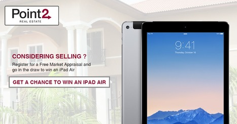 Get a Chance to Win an iPad Air From Free Market Appraisal of Your Home | Point2 Real Estate | Scoop.it