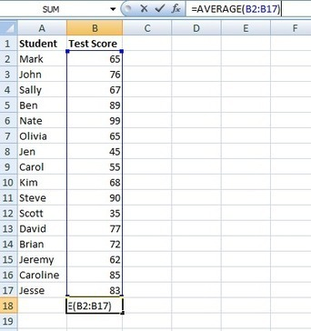 How to Find Average, Maximum, Minimum Values in Excel Tables | Tips for Managing and Organizing Electronic Documents | Scoop.it