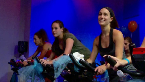 Indoor bike ride raises money for ovarian cancer - KVUE | cancer and social media | Scoop.it