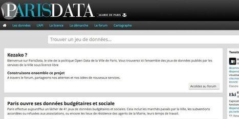 La Ville de Paris ouvre ses données budgétaires et sociales | Open Data France | Scoop.it